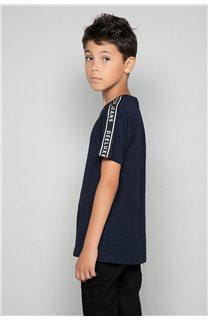T-shirt COLBERT Boy W19187B (46309) - DEELUXE-SHOP