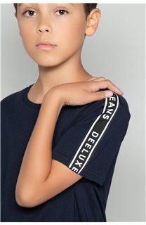 T-shirt COLBERT Boy W19187B (46310) - DEELUXE-SHOP