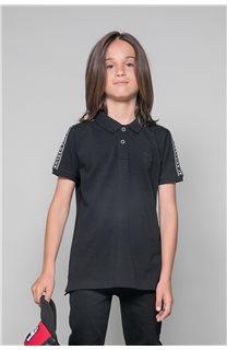 Polo shirt UMBERTO Boy W19207B (46311) - DEELUXE-SHOP