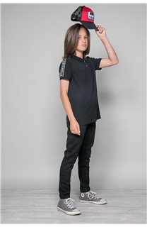 Polo shirt UMBERTO Boy W19207B (46312) - DEELUXE-SHOP