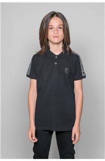 Polo shirt UMBERTO Boy W19207B (46313) - DEELUXE-SHOP