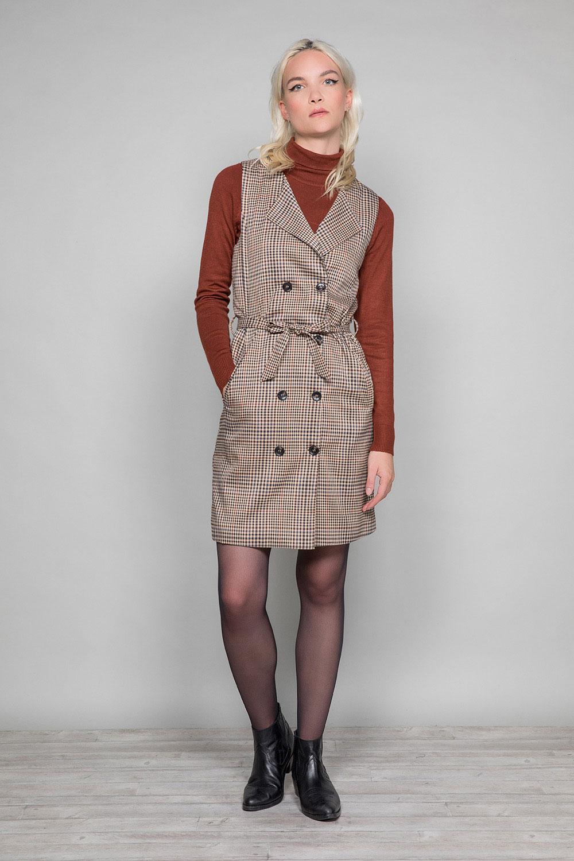 Dress PAULA Woman W19203W (46371) - DEELUXE-SHOP