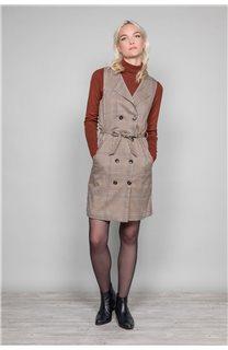 Dress PAULA Woman W19203W (46372) - DEELUXE-SHOP