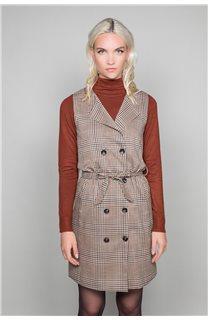 Dress PAULA Woman W19203W (46373) - DEELUXE-SHOP