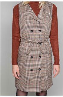 Dress PAULA Woman W19203W (46375) - DEELUXE-SHOP