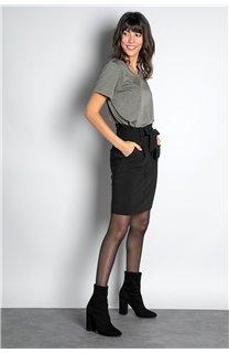 Skirt BELINA Woman W19763W (46402) - DEELUXE-SHOP