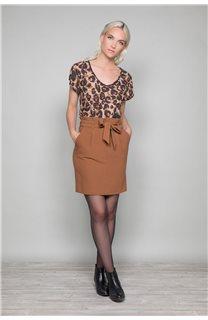 Skirt BELINA Woman W19763W (46406) - DEELUXE-SHOP