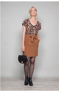 Skirt BELINA Woman W19763W (46407) - DEELUXE-SHOP
