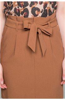 Skirt BELINA Woman W19763W (46410) - DEELUXE-SHOP