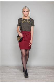 Skirt BELINA Woman W19763W (46411) - DEELUXE-SHOP