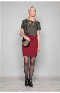 Skirt BELINA Woman W19763W (46412) - DEELUXE-SHOP