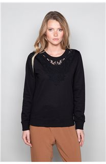 Sweatshirt FLACY Woman W19501W (46438) - DEELUXE-SHOP