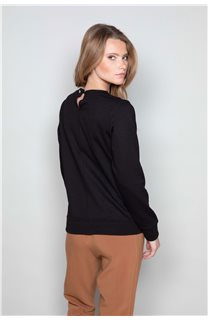 Sweatshirt FLACY Woman W19501W (46439) - DEELUXE-SHOP