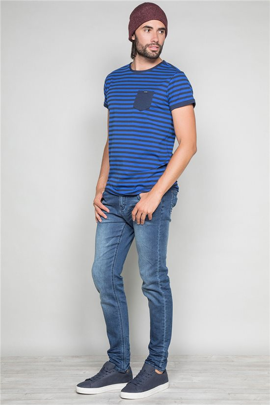 T-shirt RANDSTAK Man W19102 (46446) - DEELUXE-SHOP