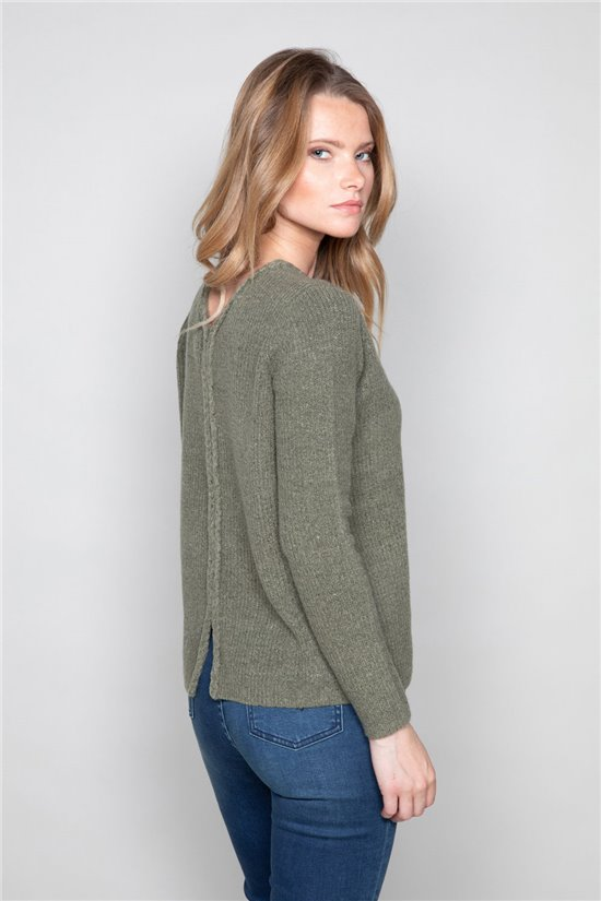 Sweater Sweater CLAIRE Woman W19315W (46581) - DEELUXE-SHOP