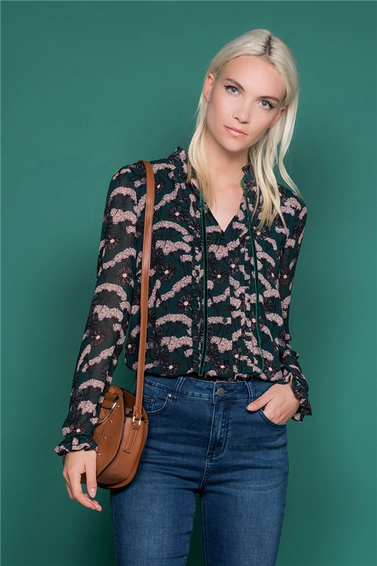 Blouse Blouse ORIANE Woman W19402W (46591) - DEELUXE-SHOP