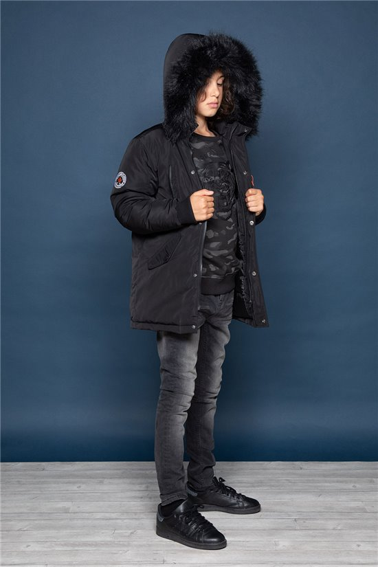 Parka SHARKSON Boy W19667B (46651) - DEELUXE-SHOP