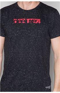 T-shirt GALAXIE Man W19143 (46735) - DEELUXE-SHOP