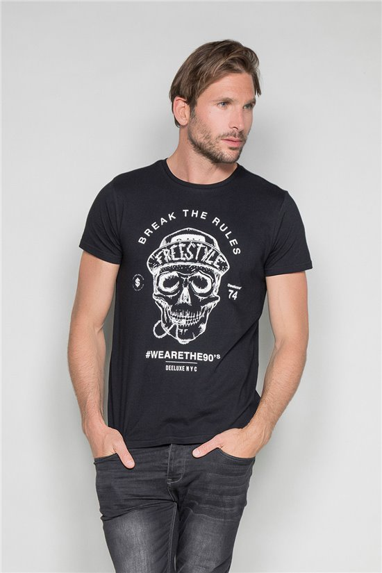 T-shirt T-shirt INGENIOUS Man W191111 (46736) - DEELUXE-SHOP