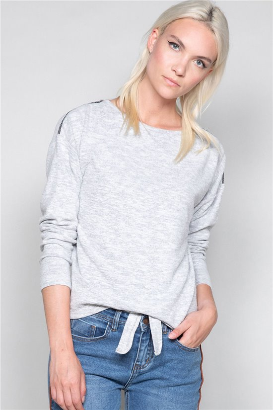 Sweater Sweater CHARLY Woman W19334W (46801) - DEELUXE-SHOP