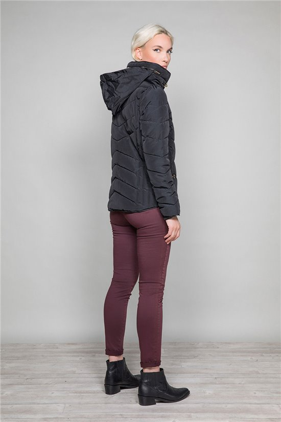 Puffy Jacket ALYA Woman W19639W (46871) - DEELUXE-SHOP