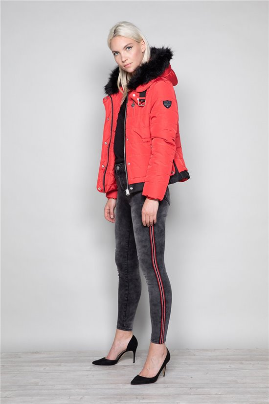Puffy Jacket CHRISTIE Woman W19606W (46876) - DEELUXE-SHOP