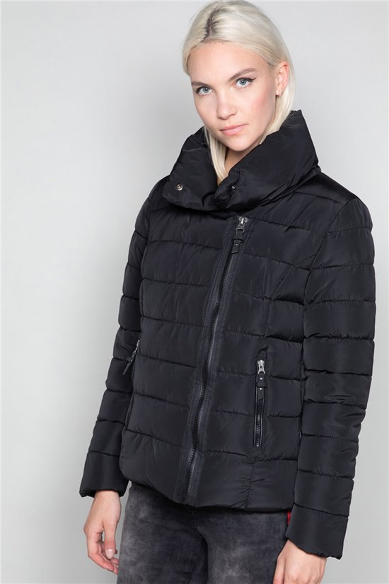 Puffy Jacket OSLO Woman W19636W (46896) - DEELUXE-SHOP