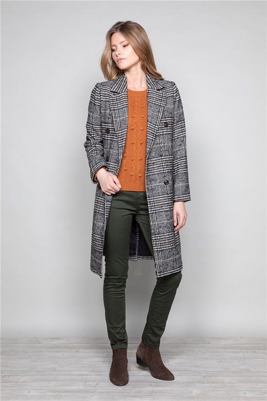 Manteau Manteau CLAUDIA Woman W19610W (46937) - DEELUXE-SHOP