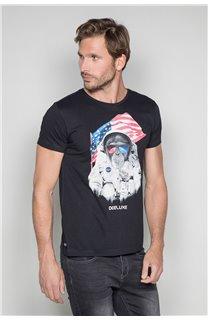 T-shirt ASTOMONK Man W19179 (47112) - DEELUXE-SHOP