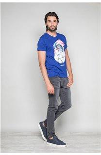 T-shirt ASTOMONK Man W19179 (47118) - DEELUXE-SHOP