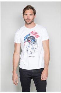 T-shirt ASTOMONK Man W19179 (47124) - DEELUXE-SHOP