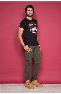 T-shirt RIDERS Man W19180 (47153) - DEELUXE-SHOP