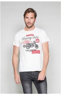 T-shirt RIDERS Man W19180 (47157) - DEELUXE-SHOP