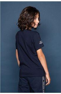 T-shirt ALEC Boy W191104B (47230) - DEELUXE-SHOP