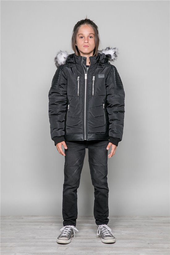 Puffy Jacket Puffy Jacket MUSOCCO Boy W19641B (47337) - DEELUXE-SHOP