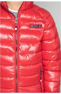 Puffy Jacket WAZZA Boy W19645B (47401) - DEELUXE-SHOP
