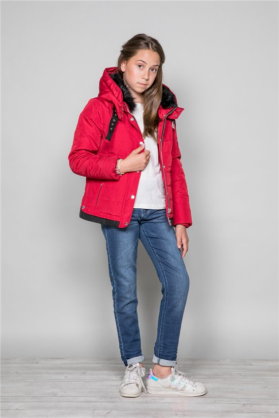 Puffy Jacket Puffy Jacket CHRISTIE Girl W19606G (47407) - DEELUXE-SHOP