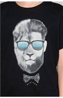 T-Shirt LIONMAN Garçon W18135B (47453) - DEELUXE