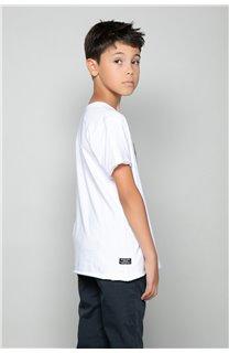 T-Shirt LIONMAN Garçon W18135B (47454) - DEELUXE