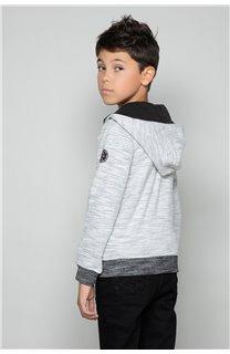Sweatshirt Sweatshirt NEWSTEP Boy W18552B (47457) - DEELUXE-SHOP