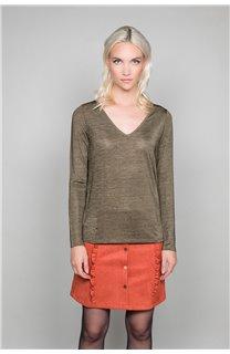 T-shirt ABY Woman W19103W (47477) - DEELUXE-SHOP