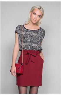 T-shirt LUCINDA Woman W19105W (47490) - DEELUXE-SHOP