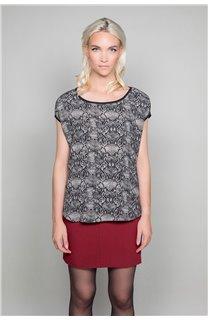 T-shirt LUCINDA Woman W19105W (47492) - DEELUXE-SHOP
