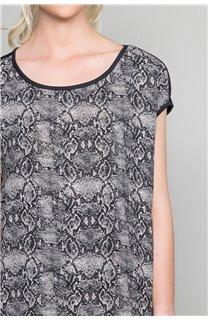T-shirt LUCINDA Woman W19105W (47494) - DEELUXE-SHOP
