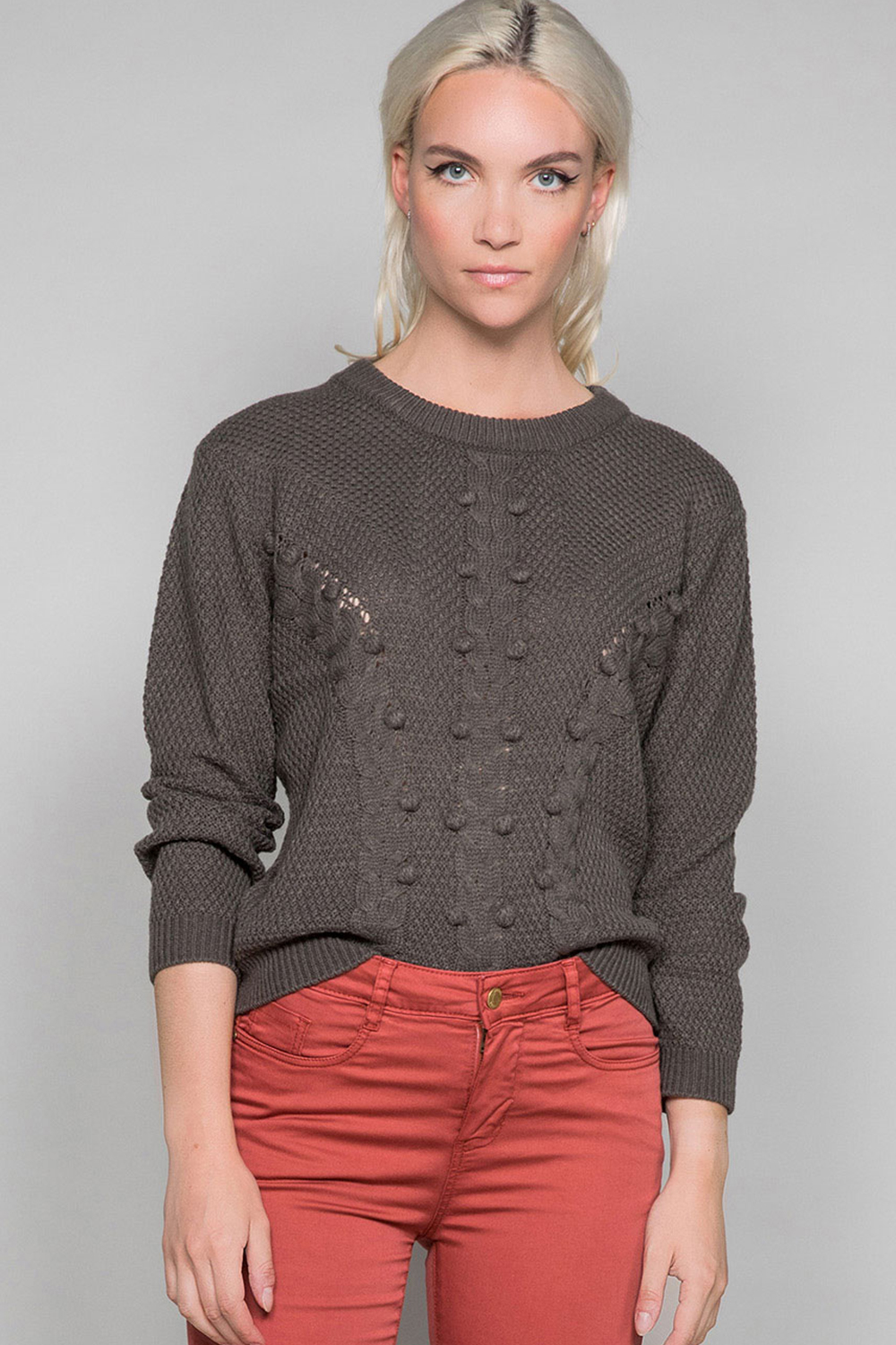 Sweater COCO Woman W19316W (47495) - DEELUXE-SHOP