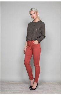Sweater COCO Woman W19316W (47496) - DEELUXE-SHOP