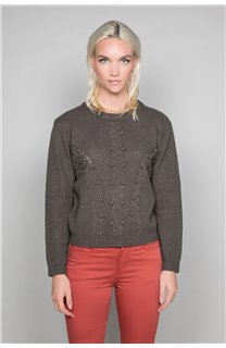 Sweater COCO Woman W19316W (47497) - DEELUXE-SHOP