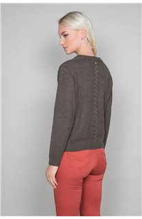 Sweater COCO Woman W19316W (47498) - DEELUXE-SHOP