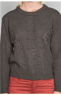 Sweater COCO Woman W19316W (47499) - DEELUXE-SHOP