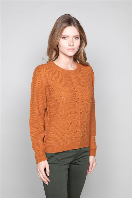 Sweater Sweater COCO Woman W19316W (47500) - DEELUXE-SHOP